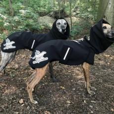 Softshellová bunda & pláštěnka BLACK is BACK 80 cm