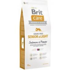 Brit Care Dog Grain-free Senior & Light Salmon & Potato 12 kg