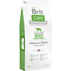 Brit Care Dog Grain-free Adult LB Salmon & Potato 12 kg