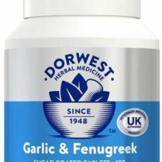Dorwest - Česnek a pískavice - 100 tbl (imunita a kůže)
