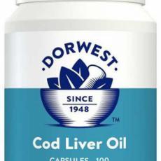 Dorwest - Olej z tresčích jater - 100 kpsl (mastné kyseliny, vit A a D)
