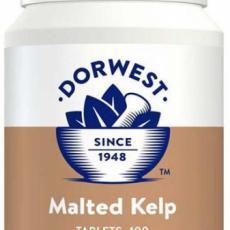 Dorwest - Mořská řasa Kelp se sladem - 100 tbl (kondice a nechutenství)
