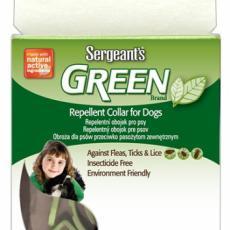 Obojek Sergeanťs Green přírodní repelentní pro psy 60 cm