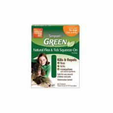 Sergeanťs Green Spot-on pro psy do 12kg 3x1,5 ml
