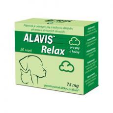 Alavis Relax 75 mg pro psy a kočky cps 20