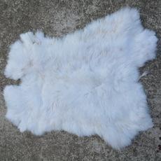 Králičí kůže velká bílá