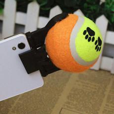 Selfie držák s tenisákem pro psa