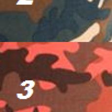 Náhled  Tričko bavlněné CAMOUFLAGE 32 cm