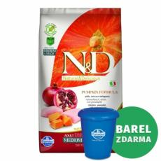N&D Grain Free Dog Adult M/L Pumpkin Chicken & Pomegranate 12 kg