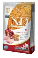 N&D Low Grain Dog Adult M/L Chicken & Pomegranate 12 kg - vhodné pro větší italské chrtíky, whippety a větší plemena