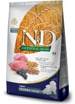 N&D Low Grain Dog Puppy M/L Lamb & Blueberry 12 kg