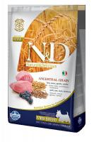 N&D Low Grain Dog Adult Mini Lamb & Blueberry 2,5 kg - vhodné pro italské chrtíky