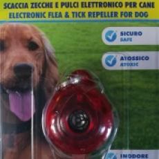 Elektronický repelent  Ultrazvukový odpuzovač blech a klíšťat pro psy SKUDO PET DOG