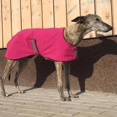 Softshellový kabátek PINK MOTION 55 cm