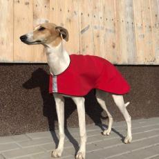 Softshellový kabátek RED DELICIOUS 100 cm
