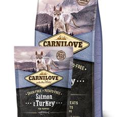 CARNILOVE Salmon & Turkey for Puppies (12kg)