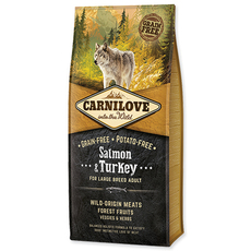 CARNILOVE Salmon & Turkey for Large Breed Adult (12kg)