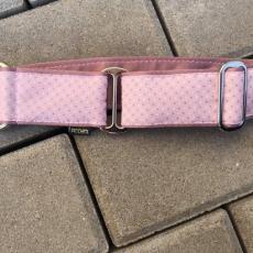 Bavlněný obojek PINK LADY 5 cm XL