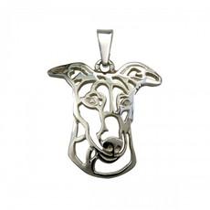 Greyhound - stříbrný přívěšek 925/1000