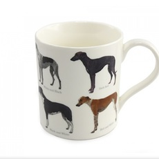 Hrneček s chrty Greyhound