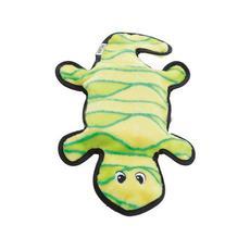 Gekon se čtyřmi pískátky - 43 cm - zelený/červený
