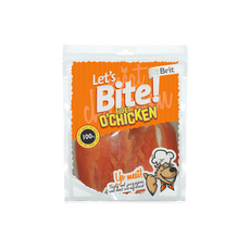 Brit Care DOG Let´s Bite Fillet o´Chicken NOVÝ 80 g