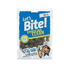 Brit Care DOG Let´s Bite Spirulina Clean NOVÝ 150 g