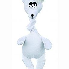 Plyšový lední vánoční medvěd