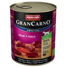 GranCarno Adult hovězí & srdce 800g