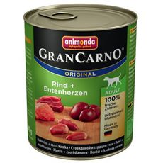 GranCarno Adult hovězí & kachní srdce 800g