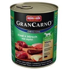 GranCarno Adult hovězí a jelen s jablky 800g