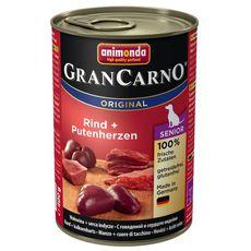 GranCarno Adult hovězí & krůtí srdce 400g