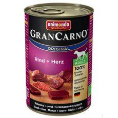 GranCarno Adult hovězí & srdce 400g