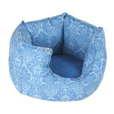 Pelíšek Crown 60 cm červený/modrý