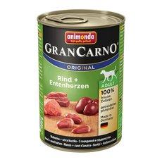 GranCarno Adult hovězí & kachní srdce 400g