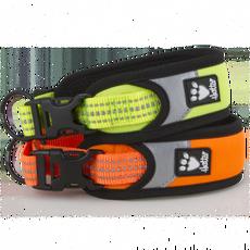 Obojek Safety 25-35cm reflexní žlutý/oranžový