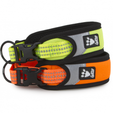 Obojek Safety 35-45cm reflexní žlutý/oranžový