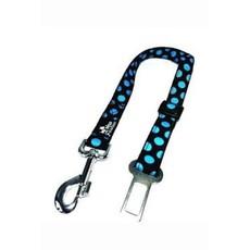 Bezpečnostní pás DINOFASHION modrý puntík šíře 2,5 cm, délka 60 cm
