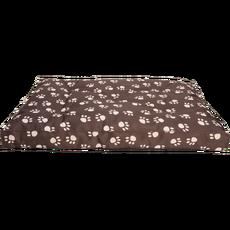 Matrace nylon Tlapka béžová/hnědá tlapka 90 x 60 x 12 cm